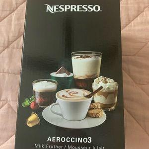 Nespresso Aeroccino 3 New in box black